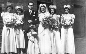 Edna and Edmunds wedding