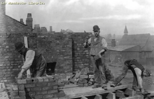 Bricklayers in early 1900's